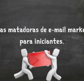 5 dicas de email marketing